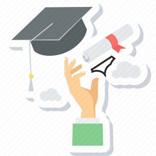 Graduation, certificate, degree, diploma, education, graduate icon - Download on Iconfinder