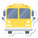 bus, school, transport, transportation, truck, van, vehicle icon