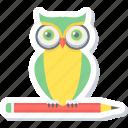 owl teacher, smart classes, teacher