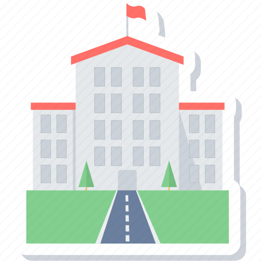 building, college, education, house, learning, school, university icon