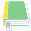 book, bookmark, education, learning, notebook, school, study icon