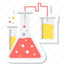 chemistry, flask, lab, laboratory, medical, research, science icon