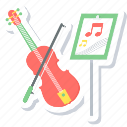 class, classes, hobby, learning, music, musical, summer icon