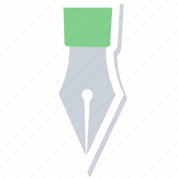 art, drawing, edit, nib, pen, write, writing icon