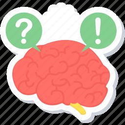 idea, mind, problem, puzzle, solution, solve, thinking icon