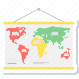 calendar, country, location, map, world icon