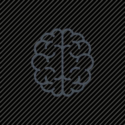 body organ, human, intelligence, organ, think icon