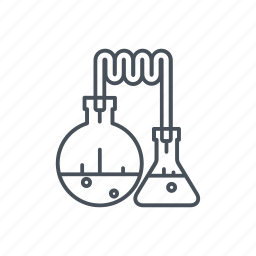 chemicals, flask, medical instruments, medicine, science, test tube icon