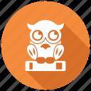 knowledge, owl, wisdom icon
