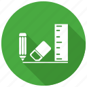 office supplies, office supply, stationery icon