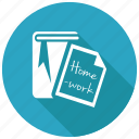 homework, assignment, thesis icon