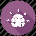 brainstorming, brain, brainstorm icon