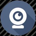 camera, webcam, cam icon