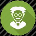 einstein, professor, scientist icon