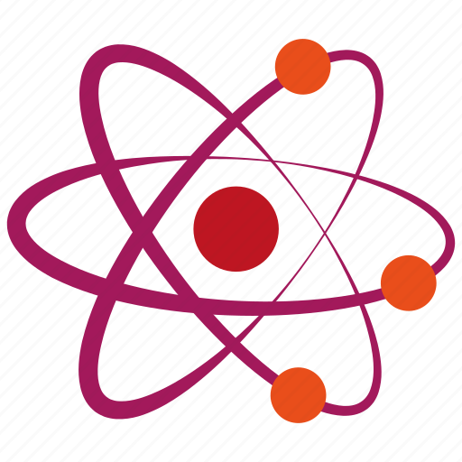atom, chemistry, laboratory, molecule, nuclear, physics, science icon