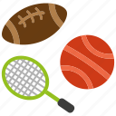 ball, basketball, game, racket, sport, tennis, volleyball icon