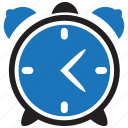 alarm, alert, clock, hour, time, timer, watch icon