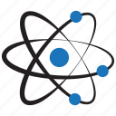 atom, discovery, physic, science icon