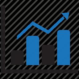 analytics, bar, chart, diagram, education, graph, statistics icon