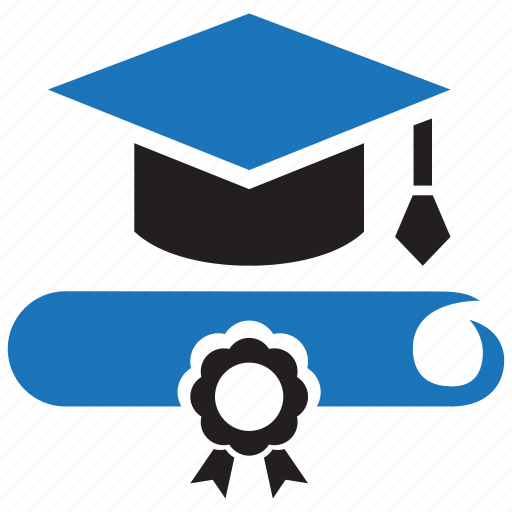 academic, college, degree, education, graduation, knowledge, training icon