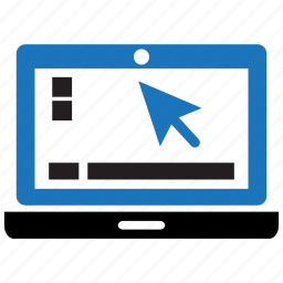 computer, education, internet, laptop, monitor, pc, technology icon