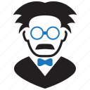 einstein, professor, teacher icon