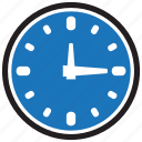 clock, date, education, hour, time, wall, watch icon