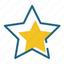 rating, space, star, success icon