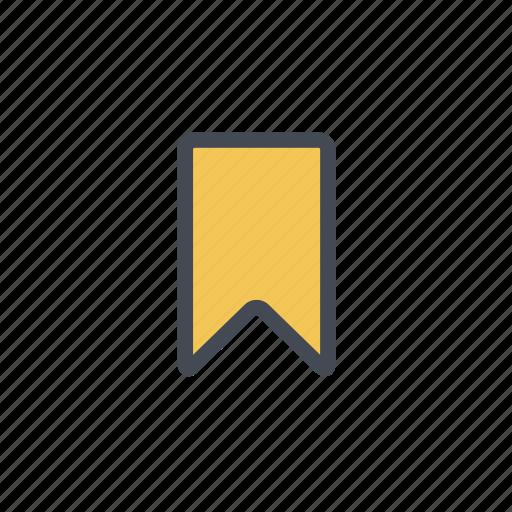actions, bookmark icon