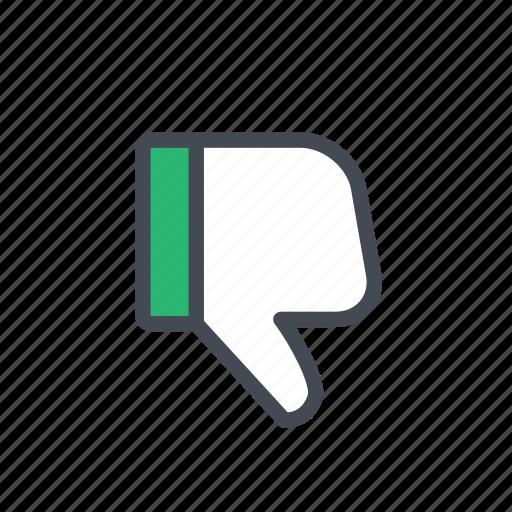 actions, dislike icon