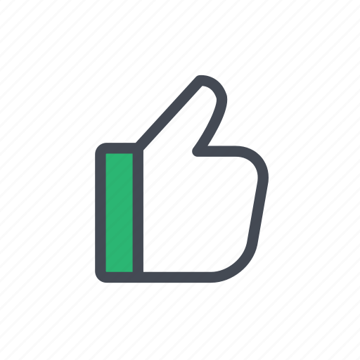 actions, like, thumbs up icon