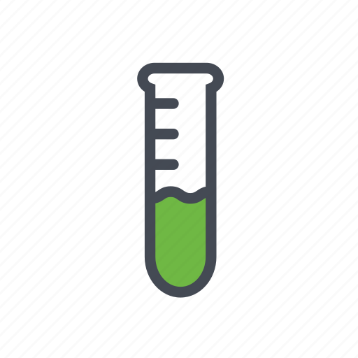 exp, research, science, test tube icon