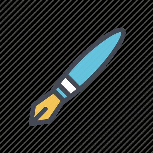 edit, fountain pen, pen, tool, write icon