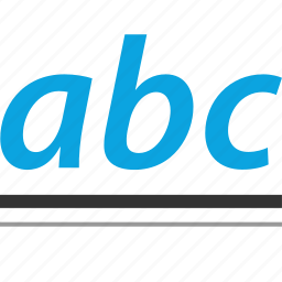 abc, early learning, education, elementary icon