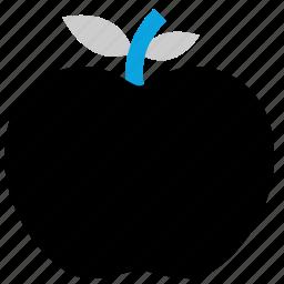 apple, fruit, teacher, vegetable icon