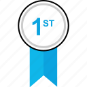 award, first, ribbon, web