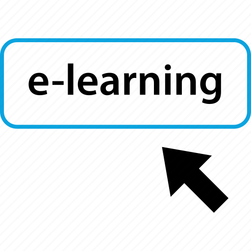 click, elearning, online, school icon