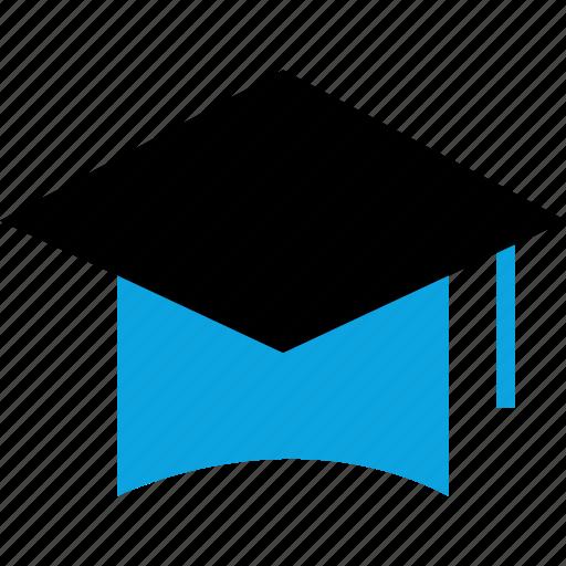 graduation, learning, senior, university icon