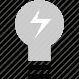 brilliant, education, energy, idea icon
