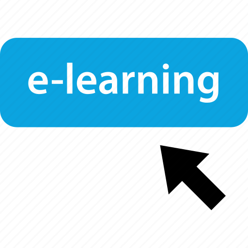 click, elearning, learning, mouse icon