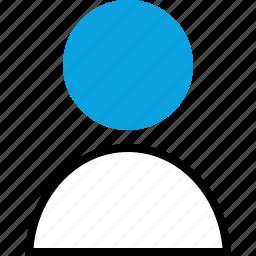 person, staff, teacher, user icon