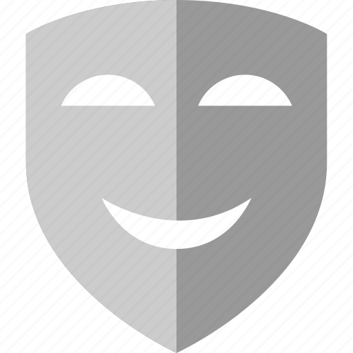 arts, mask, smile, smiling icon