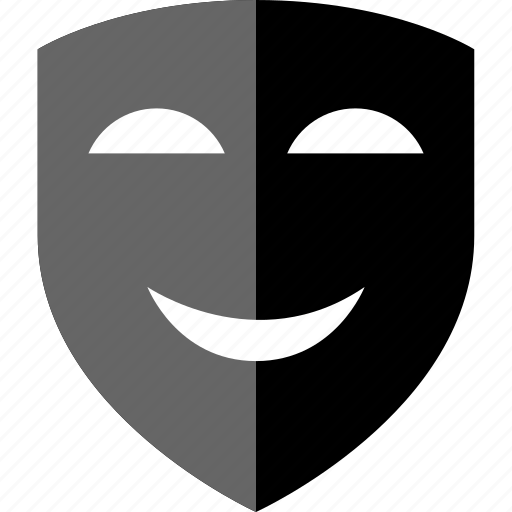 arts, mask, mistery, smile icon