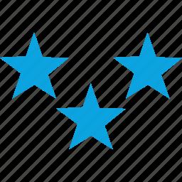 award, elementary, special, stars icon