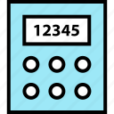 calculator, education, learning icon