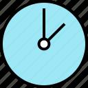 clock, education, school icon