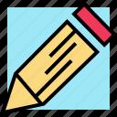 pencil, school, write icon