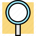 find, school, search icon