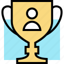education, learning, trophy icon