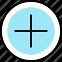 add, plus, teaching icon